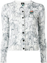 Paul Smith cactus sketch print cardigan - women - Cotton - XS