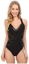 Magicsuit Leather Max Soft Cup One-Piece