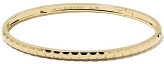 Boucheron 18kt yellow gold Quatre Clou de Paris bangle