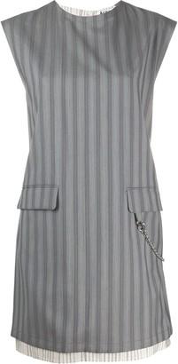 Acne Studios Sleeveless Striped Dress
