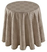 "Dansk 7200050870RD Matera Round Tablecloth, 70"", Natural"