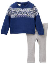 Cuddl Duds Fair Isle Sweater & Pants Set (Baby Boys)