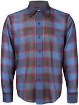 Facetasm plaid longsleeve shirt