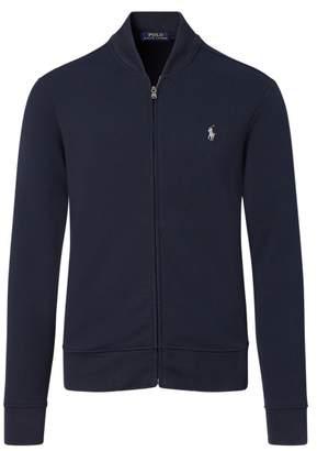 Ralph Lauren Double-knitted Bomber Jacket