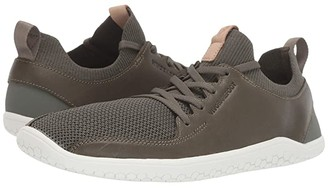 Vivo barefoot Vivobarefoot Primus Knit Leather (Olive Green) Women's Shoes