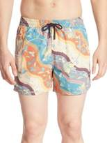 Etro Paisley Batik Shorts