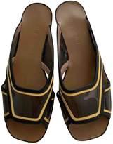 Marni Yellow Patent leather Sandals