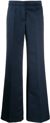 Semi-Couture Wide-Leg Tailored Trousers