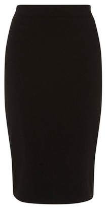 Dorothy Perkins Womens Black Pencil Skirt, Black