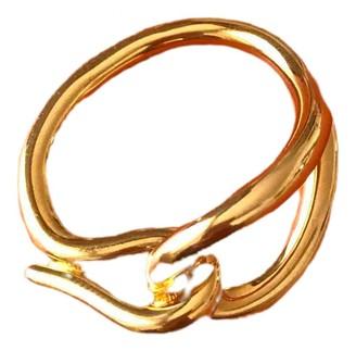 Hermã ̈S HermAs Anneau de Foulard Gold Other Scarves
