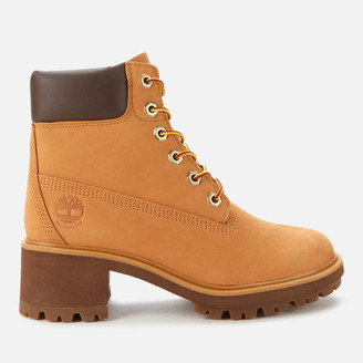 Timberland Women's Kinsley 6 Inch Waterproof Heeled Boots - Wheat