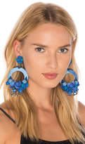Ranjana Khan Floral Circle Earring