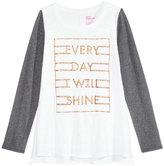 Epic Threads Hero Kids by Everyday I Will Shine Graphic-Print T-Shirt, Big Girls (7-16)