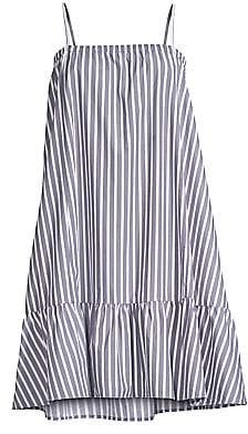 ATM Anthony Thomas Melillo Women's Cotton Poplin Stripe Dress