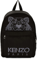 Kenzo Black Tiger Icon Backpack
