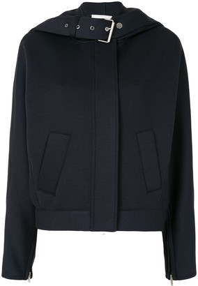 3.1 Phillip Lim Buckle Strap Hooded Jacket