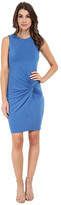 KUT from the Kloth Scoop Neck Sleeveless Dress w/ Front Twist