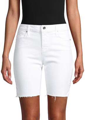 RtA Fringe Denim Shorts