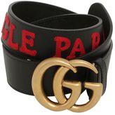 Gucci 40mm Gg Marmont L'aveagle Par Amour Belt