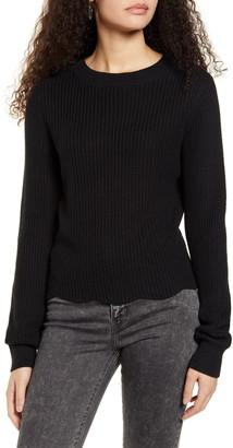 BP Scallop Hem Sweater