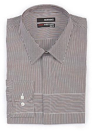 Murano Ultimate Modern Comfort Long-Sleeve Slim Stripe Sportshirt