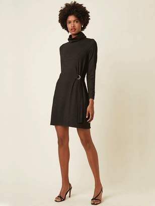 Great Plains Tamara Dress In Black Silver - 8