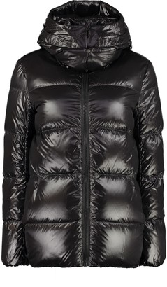 Max Mara The Cube Glossby Full Zip Padded Hooded Jacket