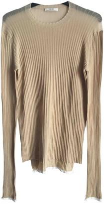 Celine Beige Cotton Knitwear for Women
