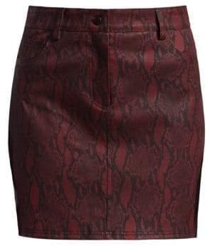 A.L.C. (エーエルシー) - A.L.C. Troy Snakeskin Mini Skirt