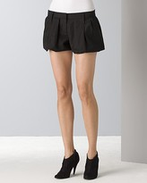 Solid Bubble Shorts