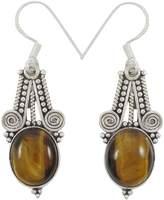 Banithani 925 Sterling Silver Dangle Earring Indian Fashion Beautiful Jewelry