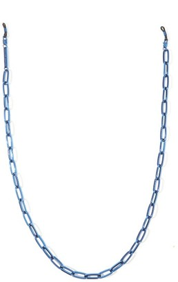 Frame Chain The Ron 18kt Gold-plated Glasses Chain - Blue