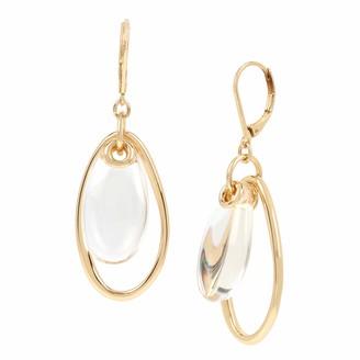 Kenneth Cole Women's Stone Orbital Drop Earrings