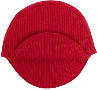 MM6 MAISON MARGIELA Curved-Edge Ribbed Beanie