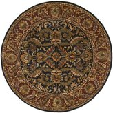 Surya A103-8RD Black Ancient Treasures Collection Rug - 8 Feet Round