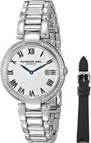 Raymond Weil Women's 1600-STS-00659 Shine Analog Display Swiss Quartz Watch