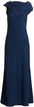 The Row Uma Satin Dress