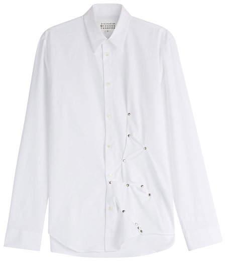 Maison Margiela Embellished Cotton Shirt