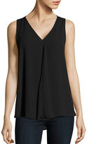 Vince Camuto Crepe V-Neck Top