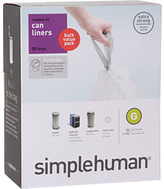 Simplehuman 30L Code G Can Liners - 50 Pack