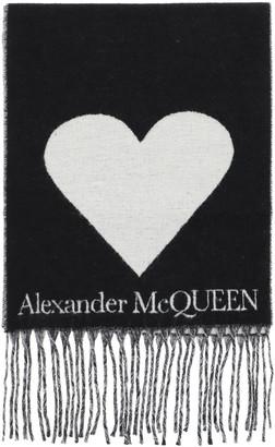 Alexander McQueen Blown Up Skull Scarf