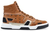 MCM Basketball High-Top Sneakers