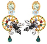Dolce & Gabbana Crystal-embellished Clip-on Earrings