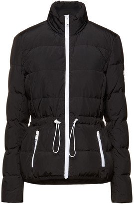 MICHAEL Michael Kors Gathered Quilted Shell Down Jacket