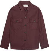 The Great The Army Twill Jacket - Claret