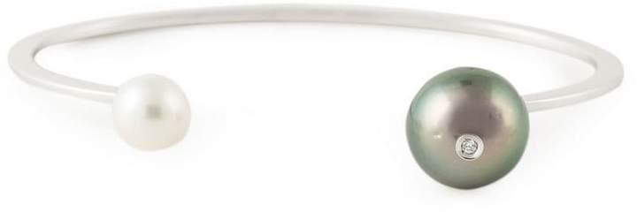 Delfina Delettrez 'Pearl piercing' diamond bracelet