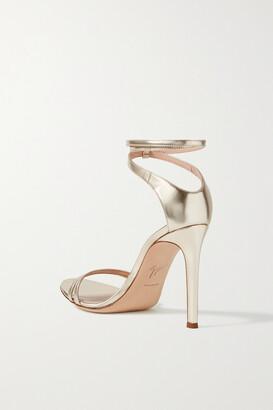 Giuseppe Zanotti Metallic Leather Sandals - Gold