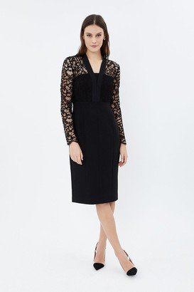 Coast Tailored Lace Dress