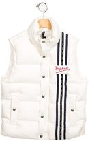 Moschino Girls' Down Zip-Up Vest w/ Tags