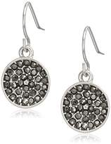 Kenneth Cole New York Marcasite Accent Drop Earrings